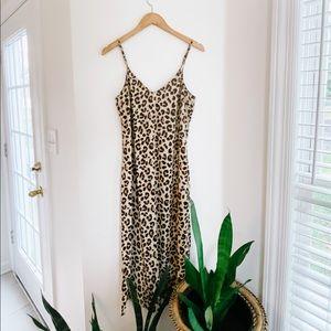 HM leopard dress!